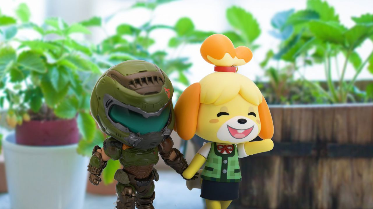 DOOM X Animal Crossing: la love story tra Eternal e New Horizons accoglie il 2021!