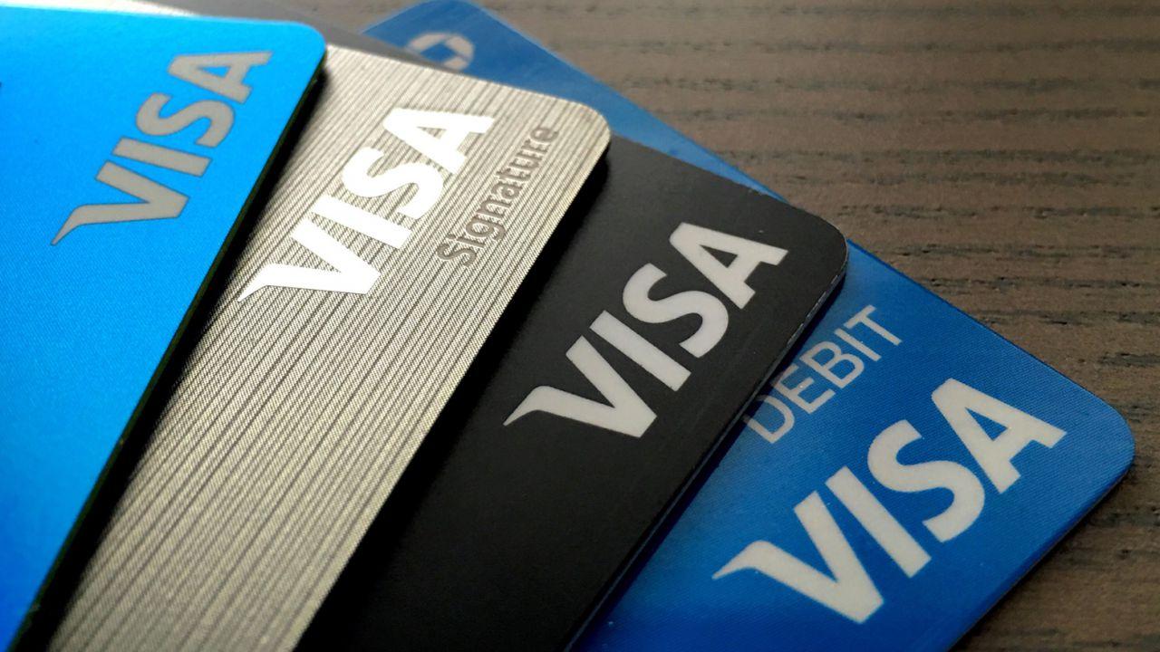American Express Oder Visa
