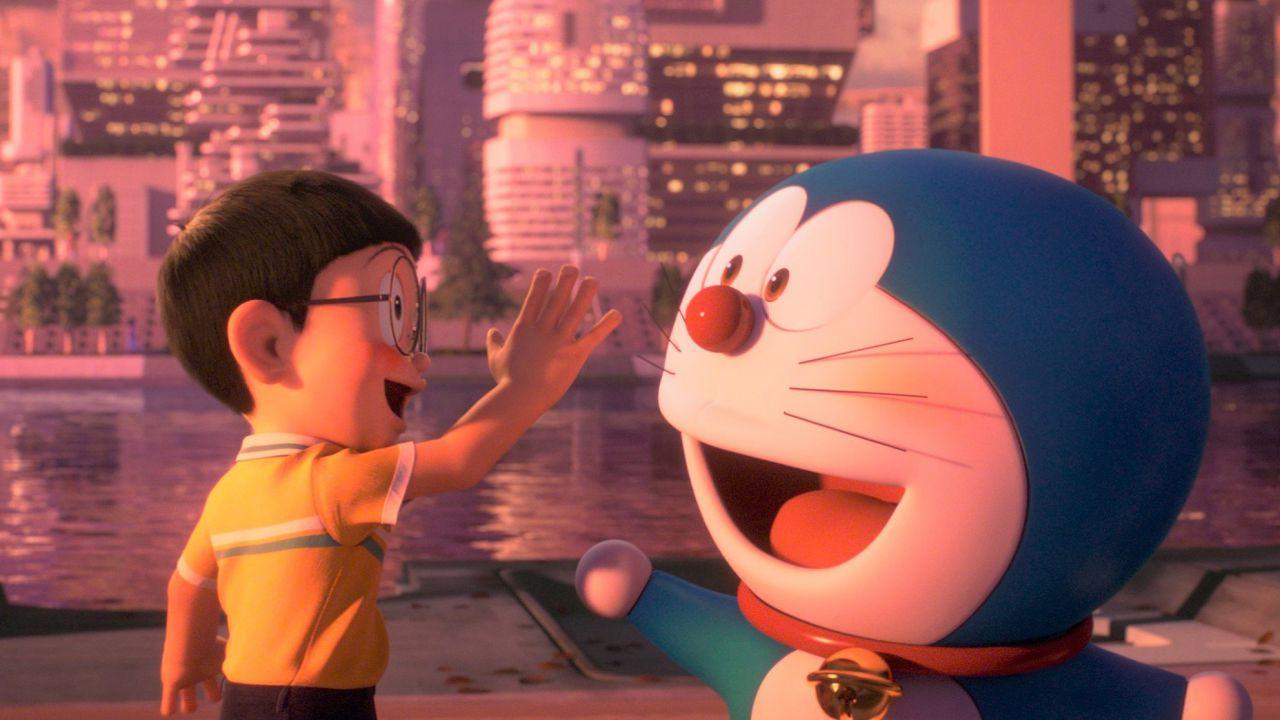 Doraemon: la community commossa per il poster del prossimo film