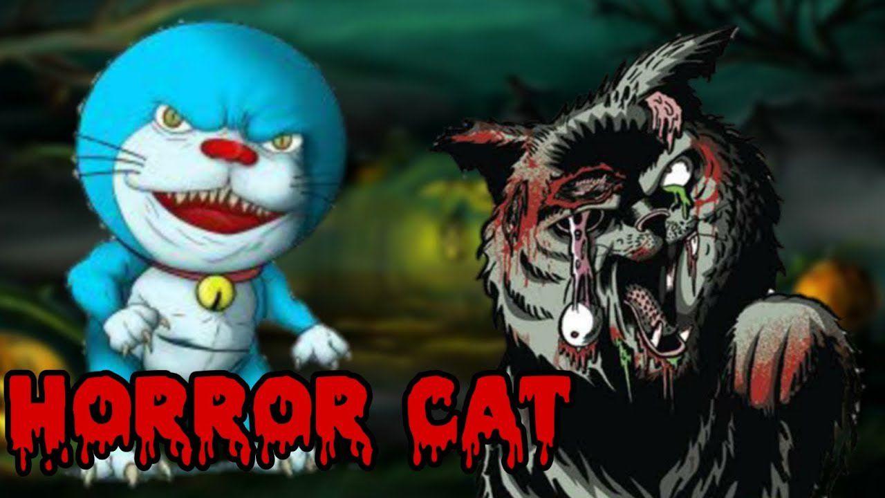 Doraemon diventa horror: un fumettista ridisegna il gatto a tinte macabre