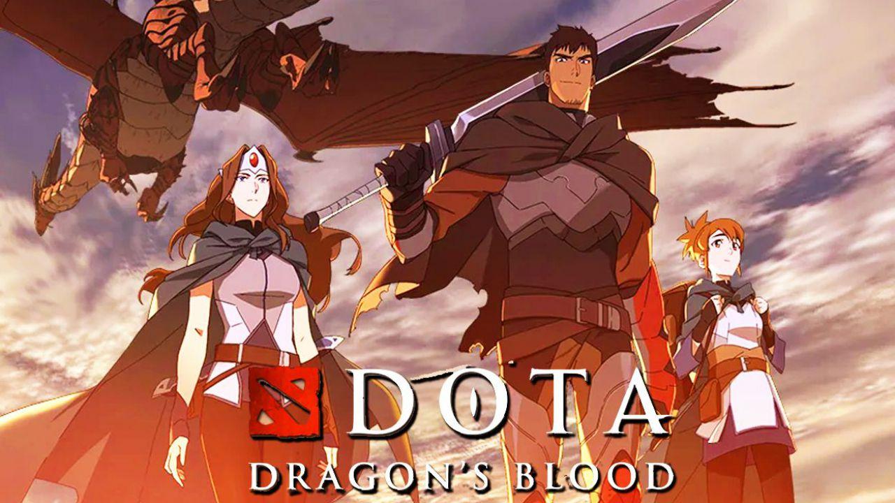DOTA: Dragon's Blood arriva su Netflix: l'anime è disponibile con il doppiaggio italiano
