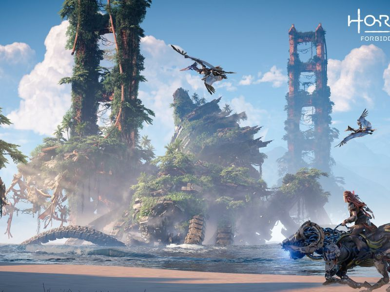 Where is Horizon Forbidden West set for PS5 and PlayStation 4?