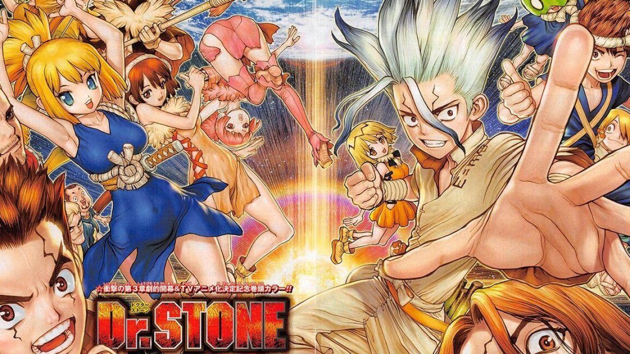 Dr. Stone: svelati i character design di quattro nuovi personaggi
