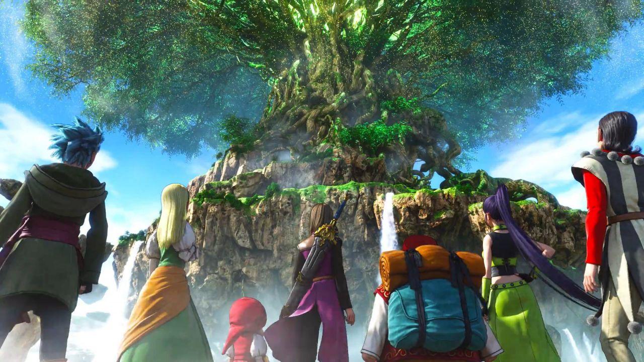 Dragon Quest 11, lancio della Definitive Edition: Square Enix rimuove il gioco originale