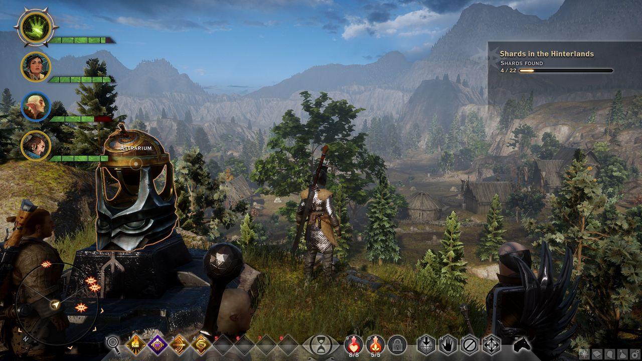 Dragon Age Inquisition: prime immagini della versione PC