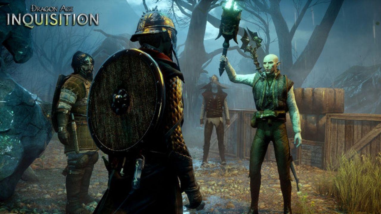 Dragon Age Inquisition: trapela in rete un video per una sessione a porte chiuse
