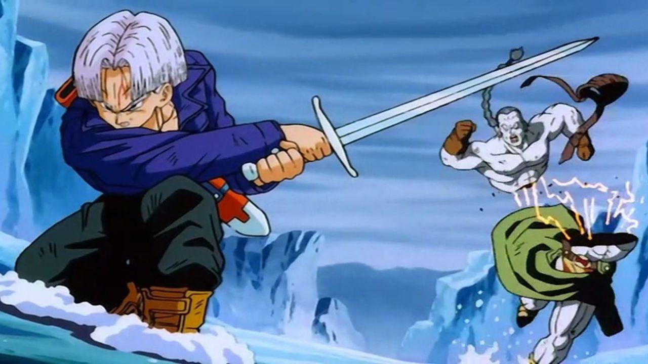 Dragon Ball: approfondiamo la potenza della spada di Trunks