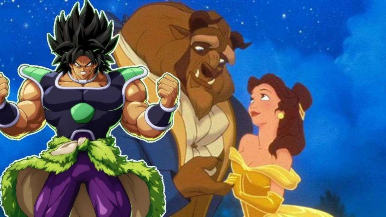 Dragon Ball: Broly, Cheelai e Goku vivono in un classico Disney grazie ad un'epica fanart