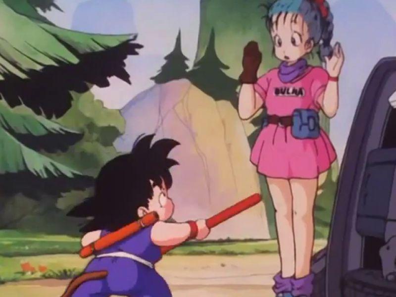 Dragon Ball: Bulma e Goku in sella alla moto Capsule No.9 in questa splendida figure