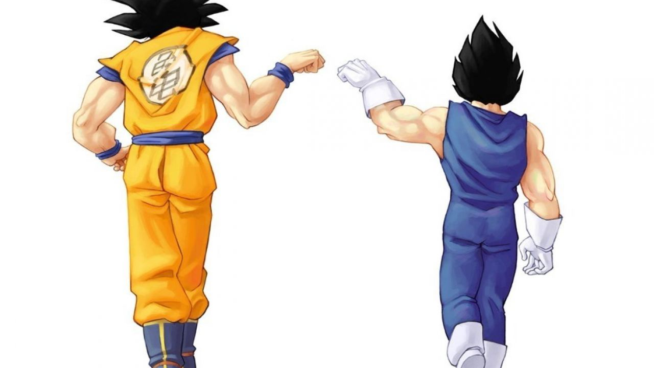 Dragon Ball, due fan celebrano 20 anni di amicizia con un tatuaggio di Goku e Vegeta!