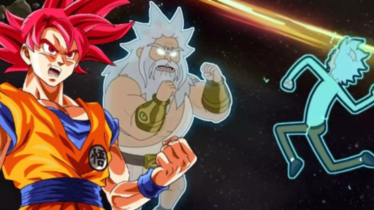 Dragon Ball, l'ultimo episodio di Rick and Morty ha citato lo scontro tra Goku e Beerus?
