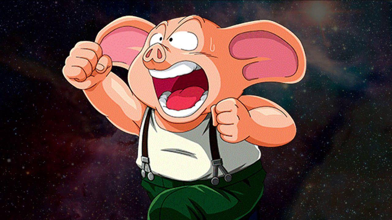 Dragon Ball: un fan crea una versione fin troppo realistica del maialino Oolong