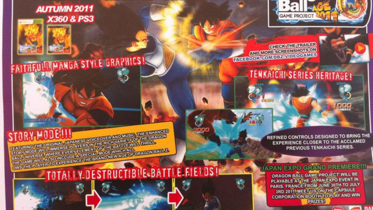 Dragon Ball Game Project Age 2011: primo teaser trailer