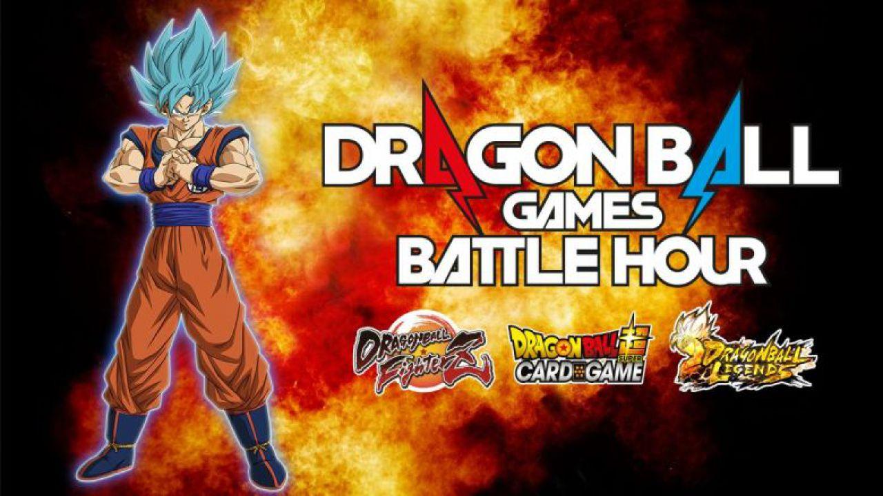 Dragon Ball Games Battle Hour a marzo: il primo evento online basato su più giochi