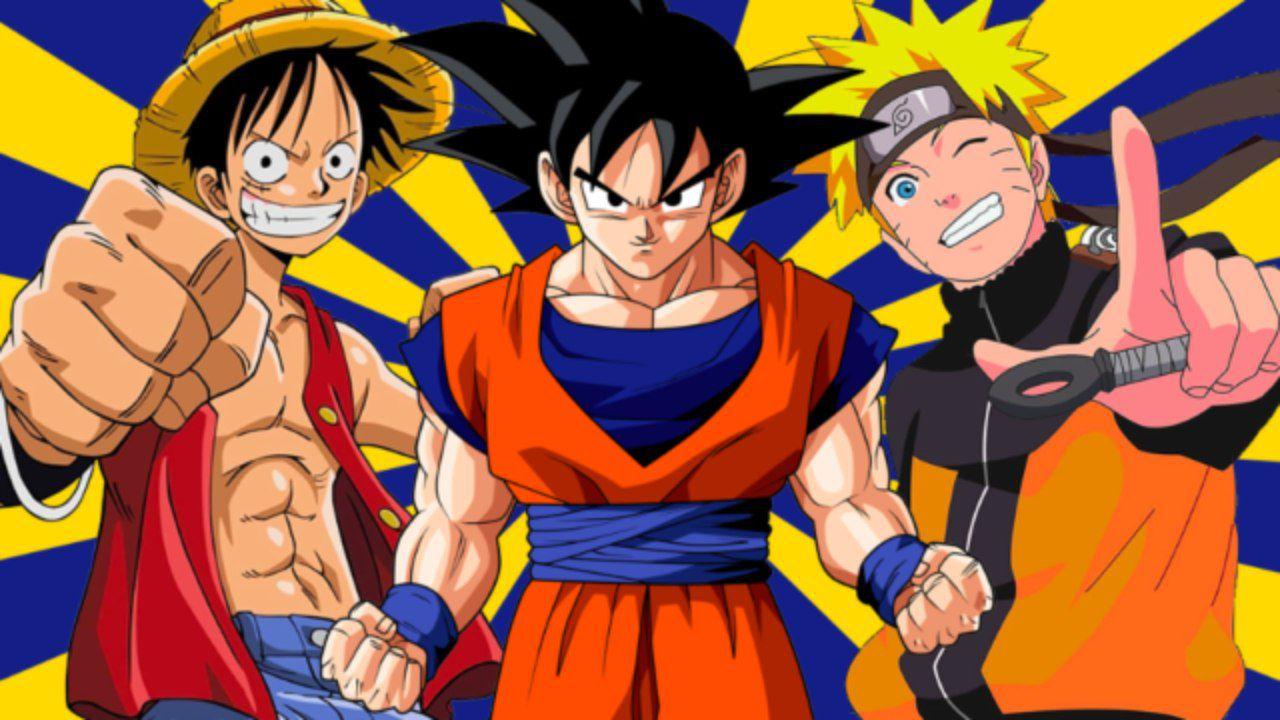 Dragon Ball: Goku, Naruto e Rufy combattono assieme in questo gigantesco tatuaggio