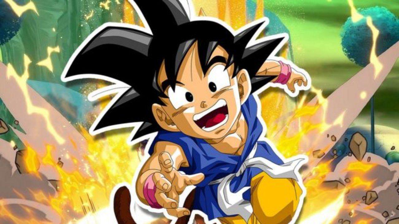 Dragon Ball GT: Goku bambino raggiunge l'Ultra Istinto in questa epica fan art