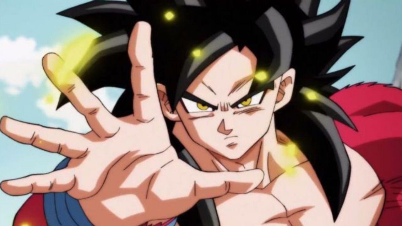 Dragon Ball GT: Goku Super Saiyan 4 ritorna in un'illustrazione di Dragon Garow Lee