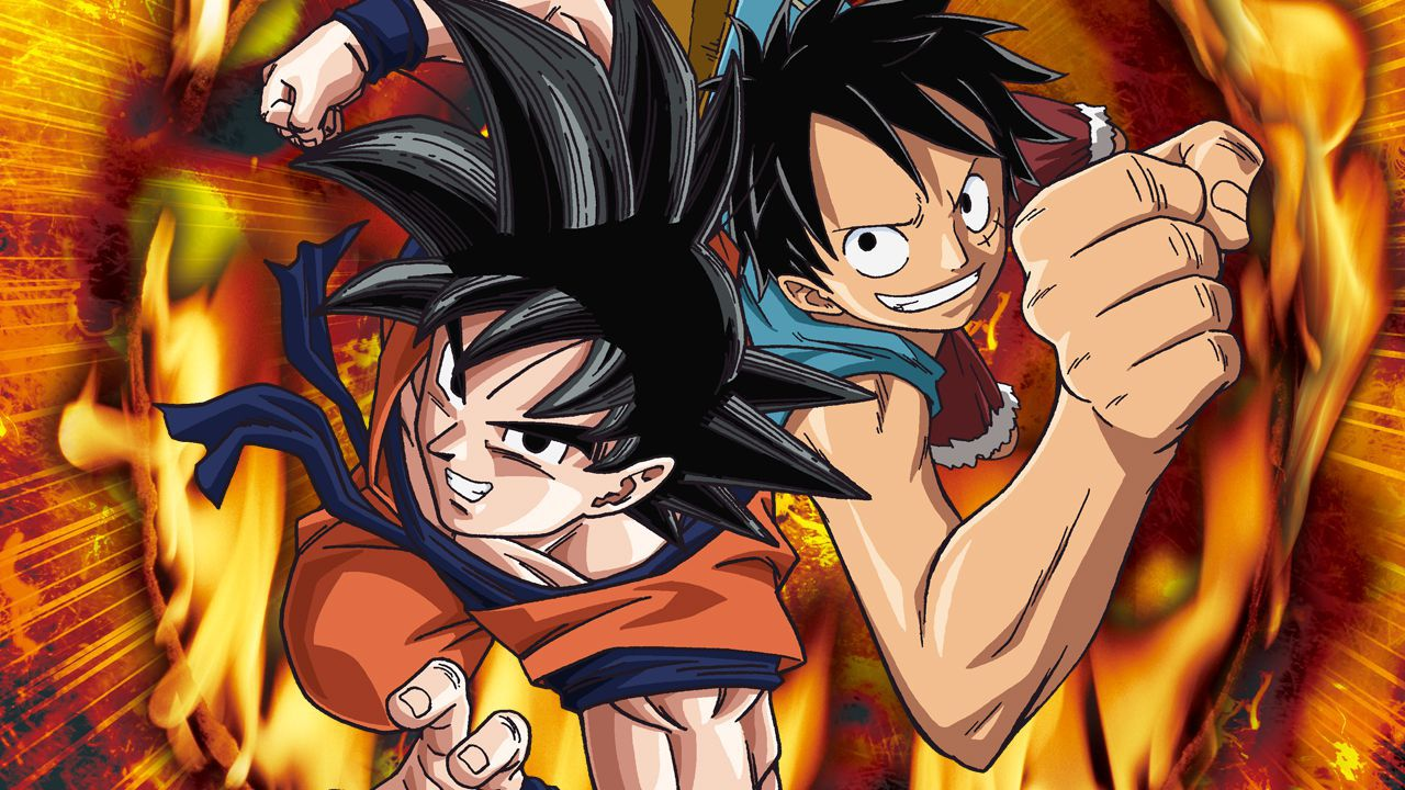 Dragon Ball e ONE PIECE: Goku e Vegeta diventano Mugiwara in questo crossover fan made