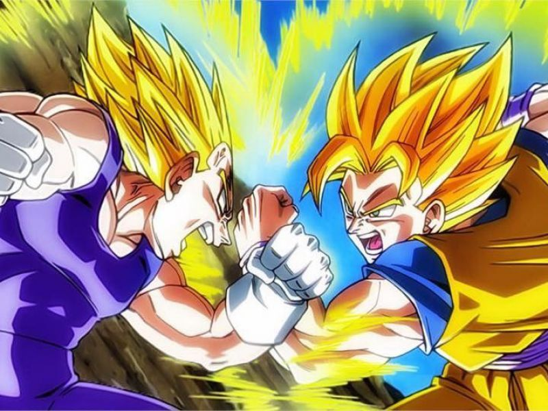 Dragon Ball: le ragioni per cui Goku è sempre stato superiore a Vegeta, spiegate bene