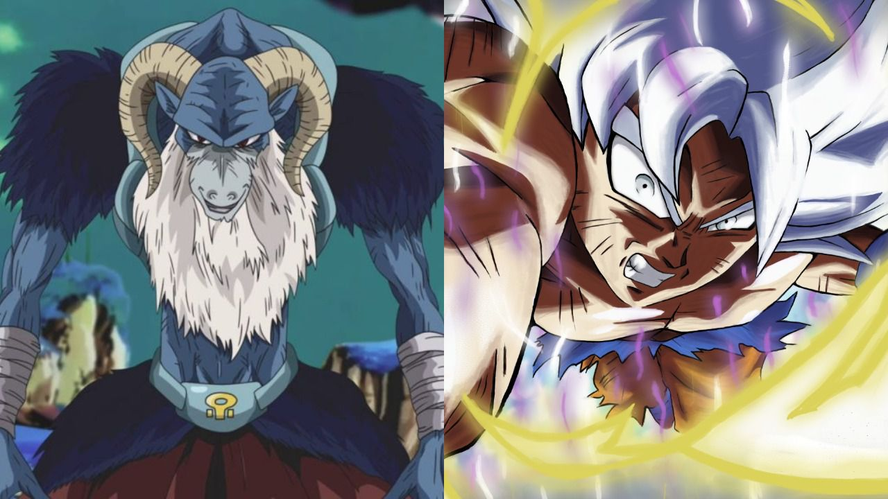 Dragon Ball Super 59: lo scontro tra Goku e Molo prende vita in una splendida fan art