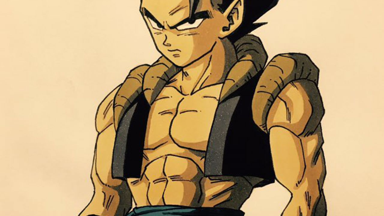 Dragon Ball Super: Broly, Dragon Garow Lee illustra un minaccioso Gogeta