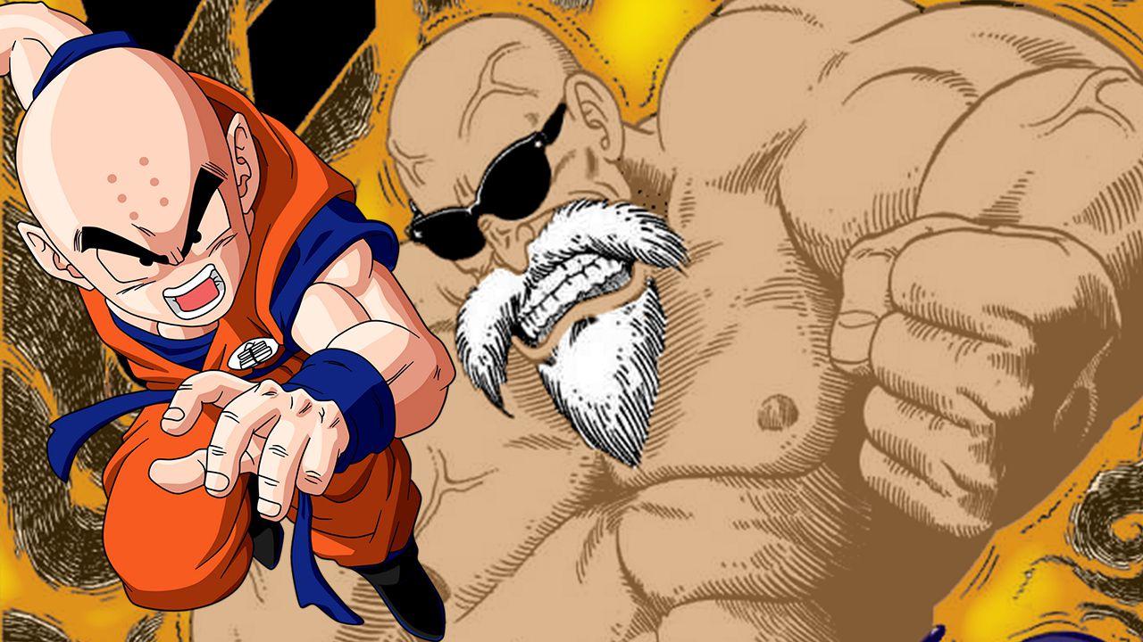 Dragon Ball Super: Crilin come Muten in questa fan art, lo vedremo mai ai massimi livelli?