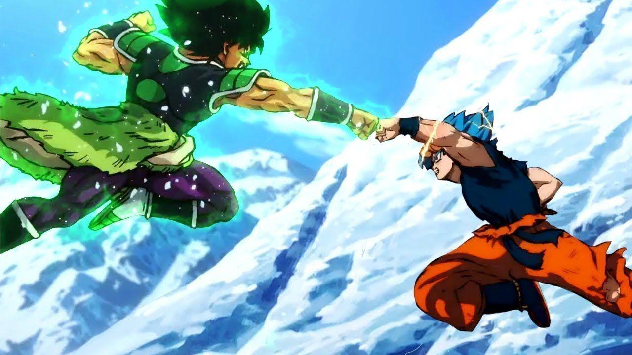 Dragon Ball Super: una fan art ci mostra lo scontro tra Goku e Broly in prima persona