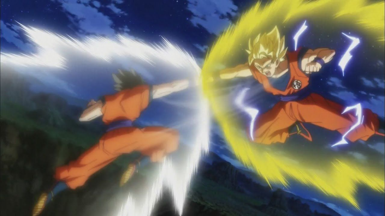 Dragon Ball Super: Una fan art ci mostra lo scontro tra Goku e Gohan