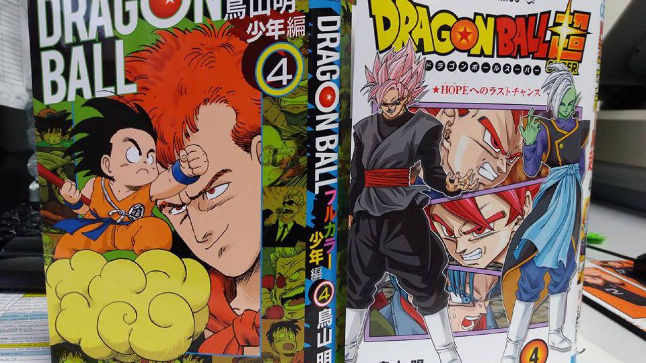 Dragon Ball Super e Full Color: i numeri 4 di entrambi i manga usciranno ad aprile!