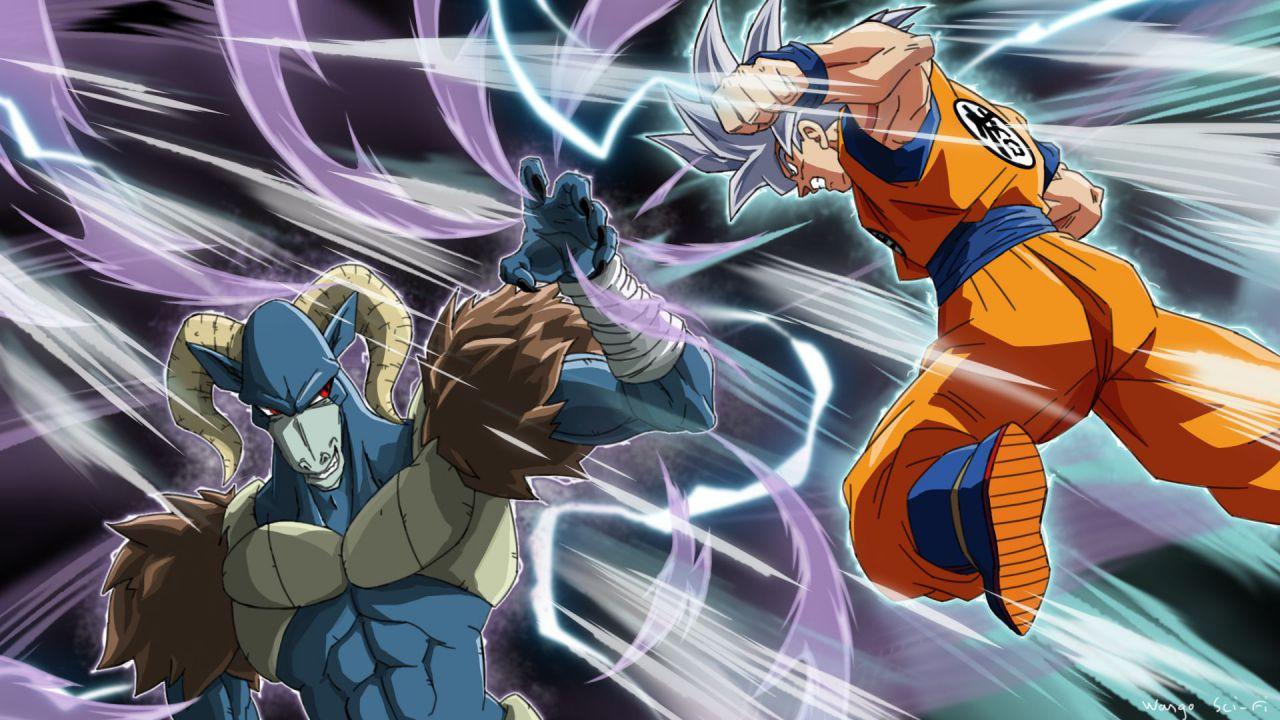 Dragon Ball Super: Goku sfida Molo nella copertina del volume 15 del manga