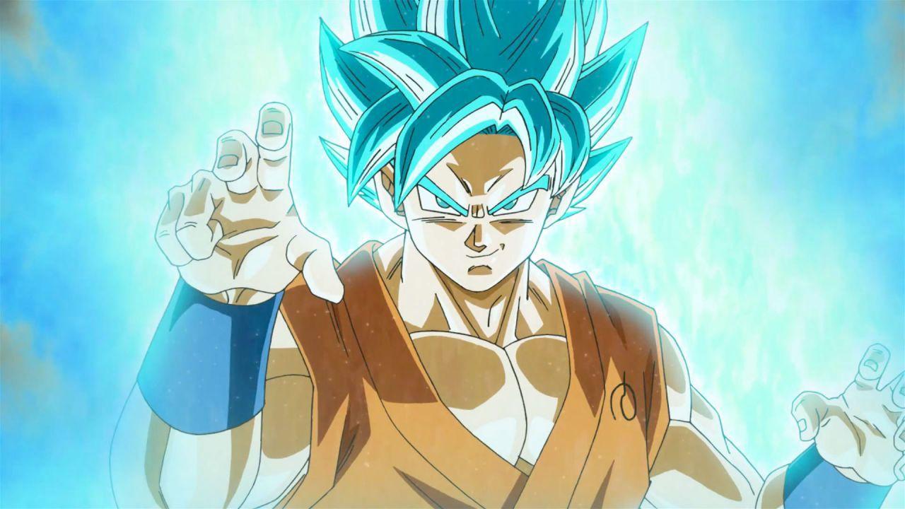 Dragon Ball Super: Goku Super Saiyan Blue si mostra in una statua alta oltre mezzo metro
