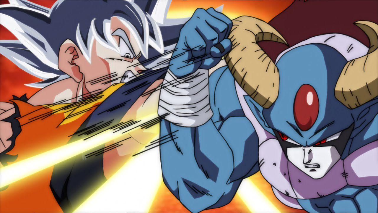 Dragon Ball Super: Goku Ultra Istinto contro Molo, ma sono i personaggi di Among Us