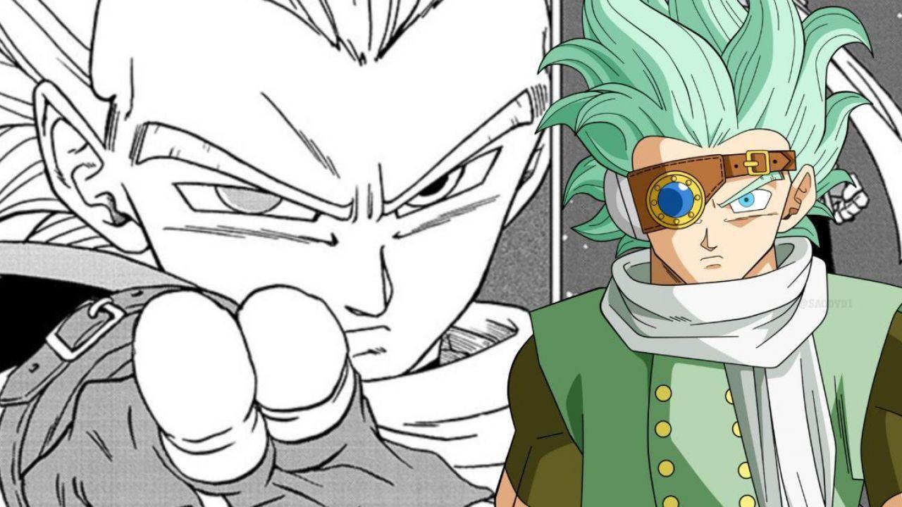 Dragon Ball Super: Granolah diventa il più potente in una fanart dove batte Goku e Broly