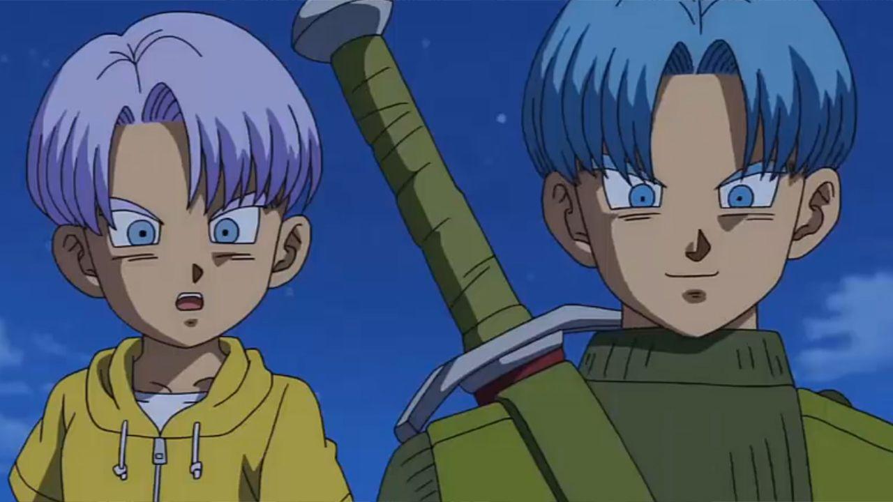 Dragon Ball Super, perché Trunks ha i capelli blu e non viola?
