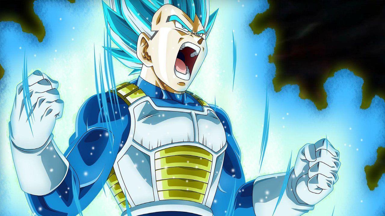 Dragon Ball Super: tutte le trasformazioni di Vegeta in questa fan art in computer grafica