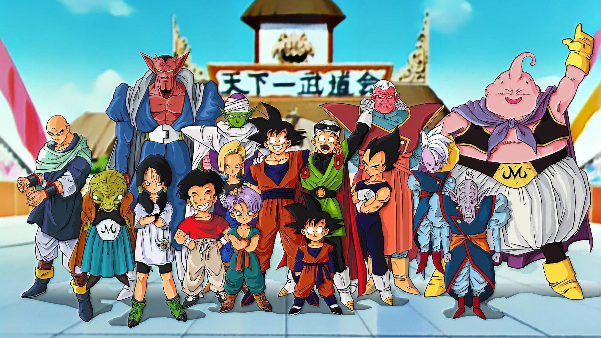 Dragon Ball Unartista Disegna Tutti I Personaggi Apparsi Nella