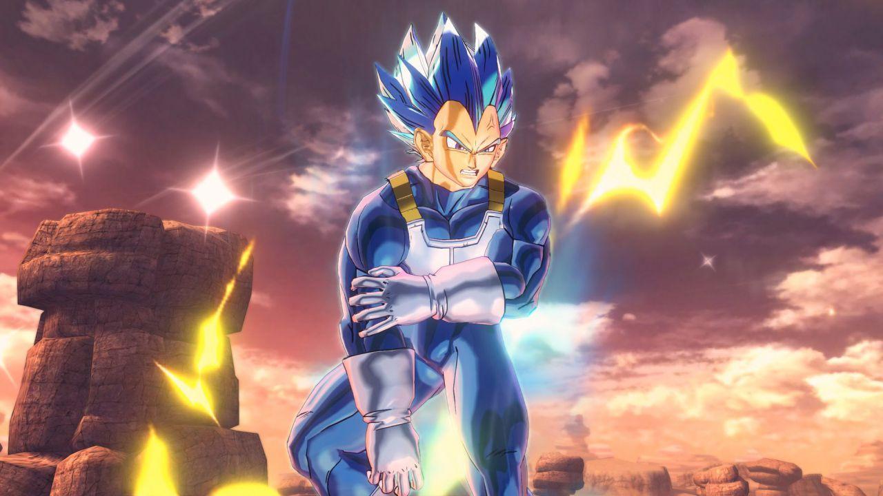 Dragon Ball Xenoverse 2: ecco le prime immagini di Vegeta Super Saiyan Blue Evolution