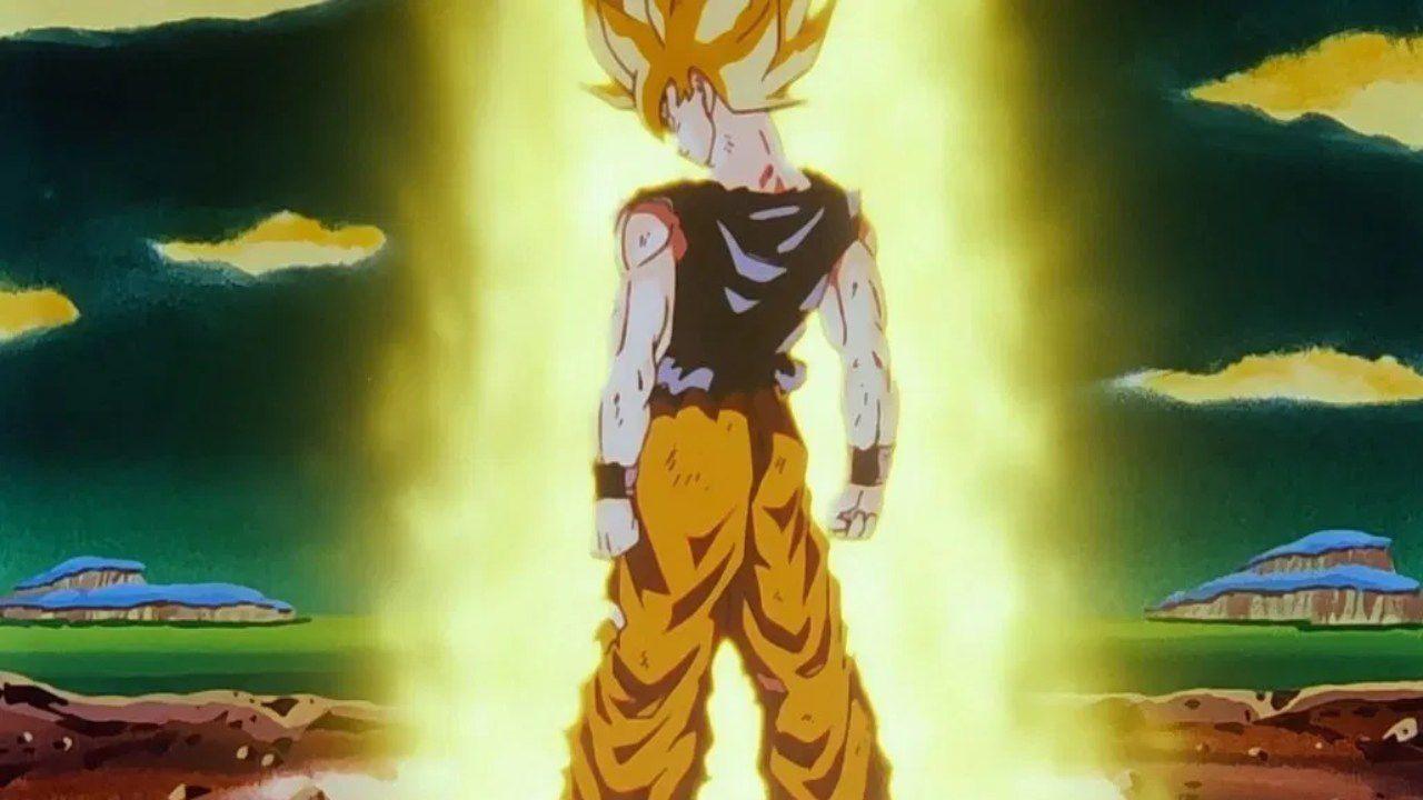 Dragon Ball Z: l'epica trasformazione in Super Saiyan di Goku in questa statua da 800 euro
