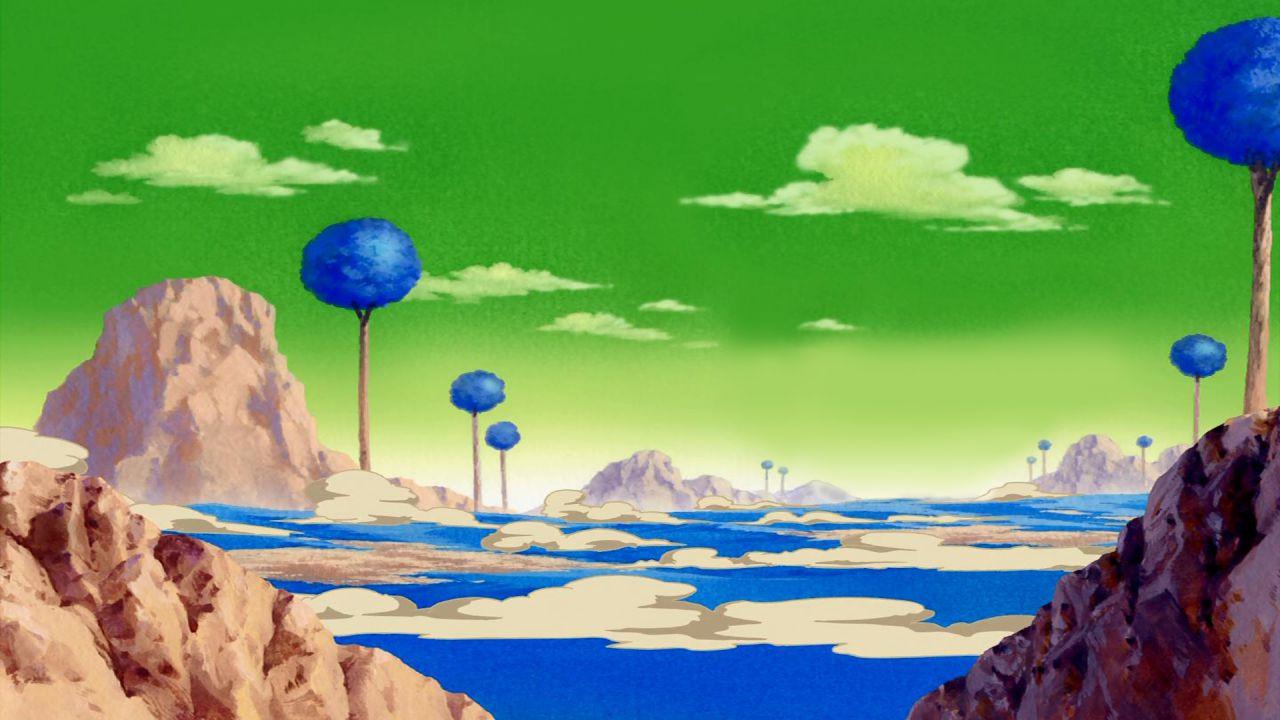 Dragon Ball Z: un fan ricrea una riproduzione in scala di oltre 2 metri del Pianeta Namecc