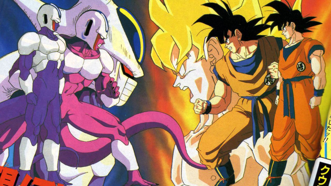 Dragon Ball Z: Goku affronta Cooler in questo splendido disegno di Dragon Garow Lee