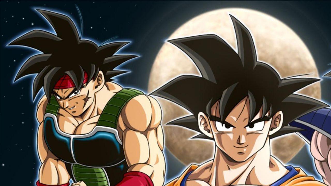 Dragon Ball Z: Goku, Bardack e Gohan insieme in un vecchio poster di Toei Animation