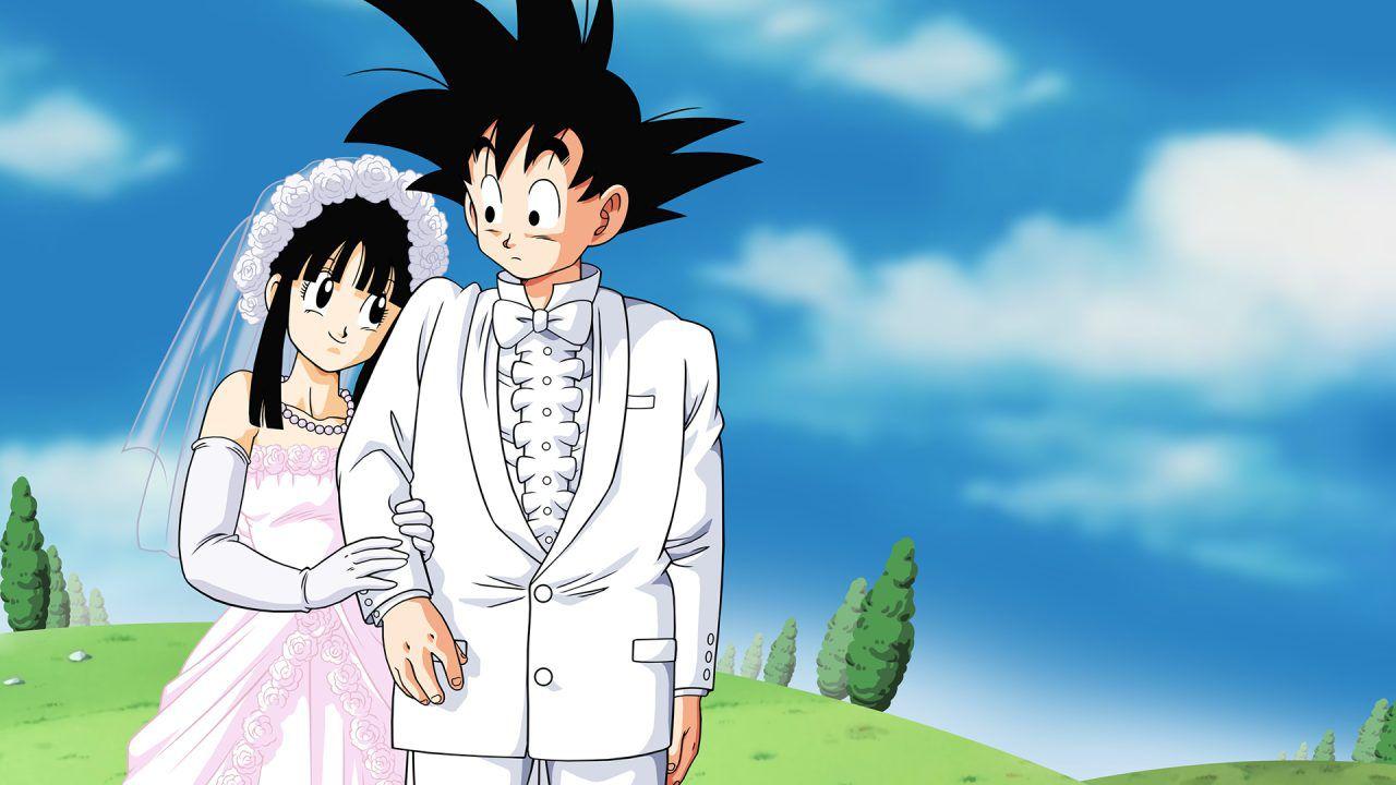 Dragon Ball Z: Goku e Chichi convolano a nozze in questa figure da 300 euro