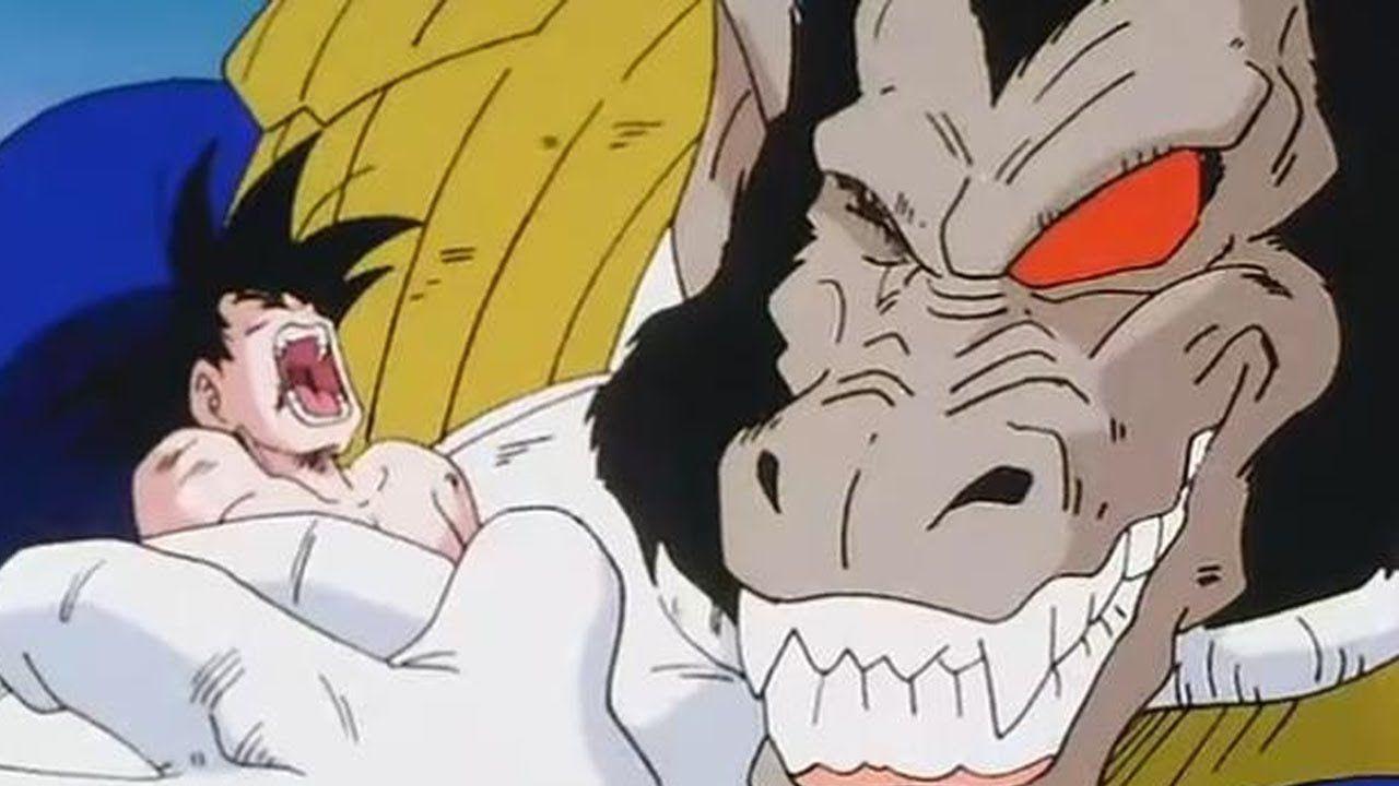 Dragon Ball Z: Goku contro Vegeta Oozaru in questa fan art in prima persona
