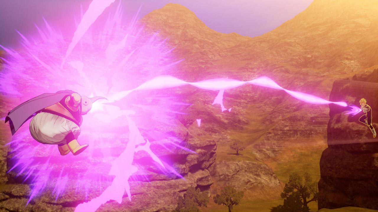Dragon Ball Z Kakarot: la prima apparizione di Majin Bu nei nuovi screenshot