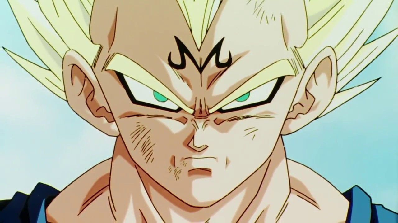 Dragon Ball Z: Majin Vegeta diventa un vero e proprio demone in una splendida fan art