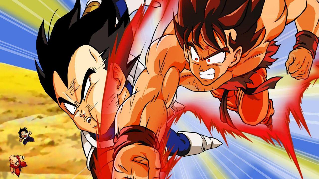Dragon Ball Z: i protagonisti entrano in un mondo sci-fi in una splendida illustrazione