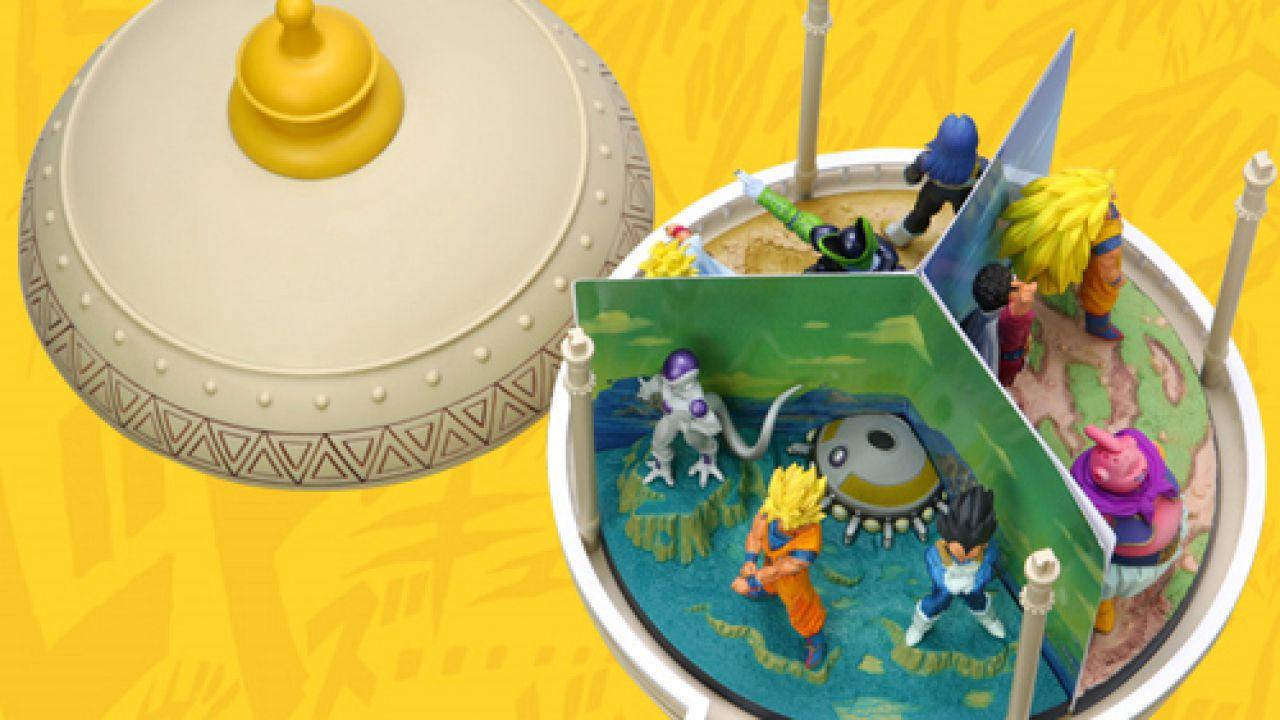 Dragon Ball Z: quando con i DVD dell'anime si regalavano diorami ispirati alle saghe