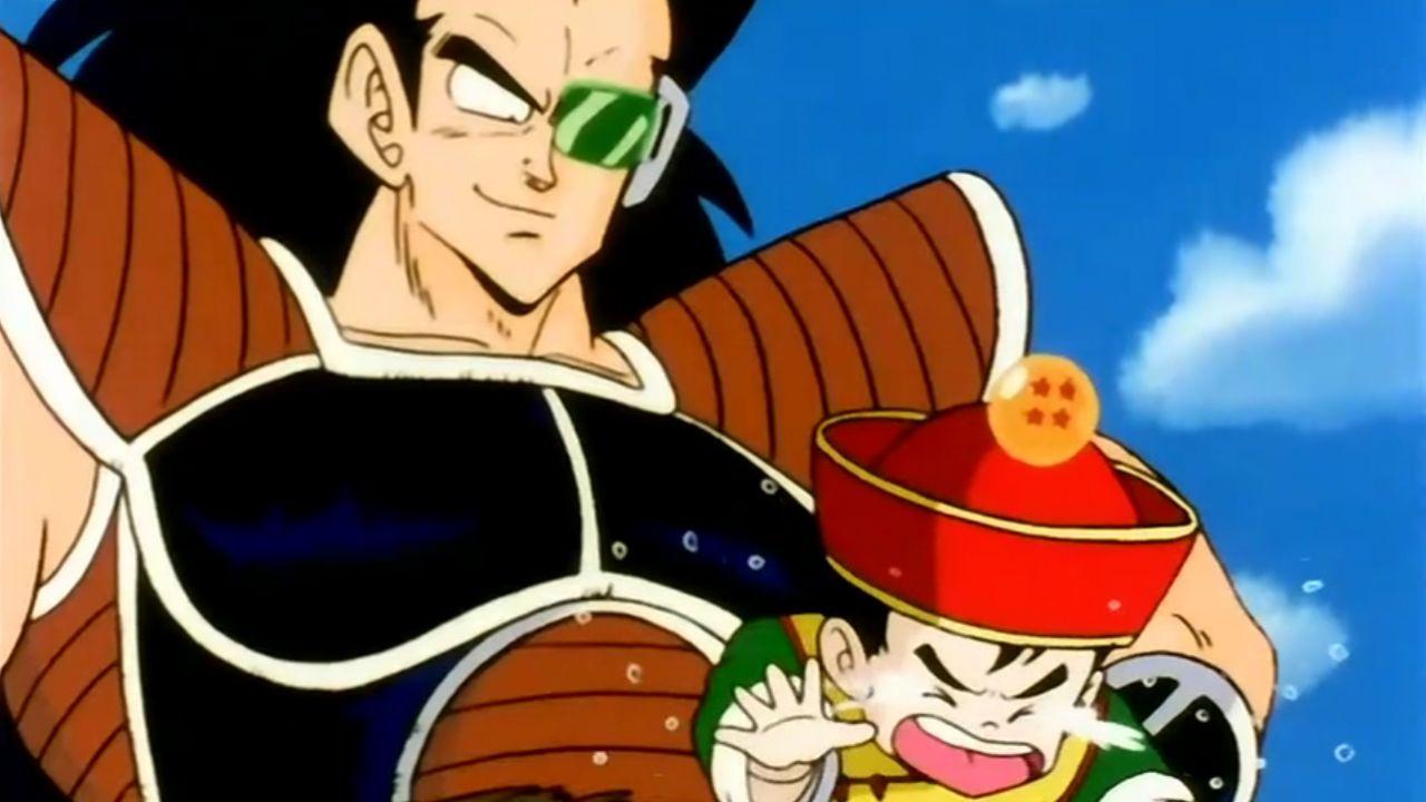 Dragon Ball Z: Radish viene sgridato da Chichi mentre fa lo zio in una divertente fan art