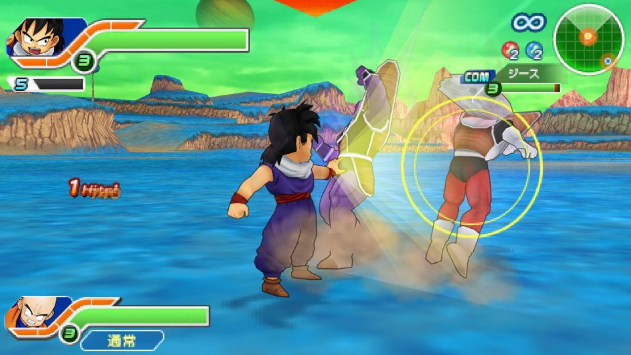 Dragon Ball Z: Tenkaichi Tag Team, da domani in Demo