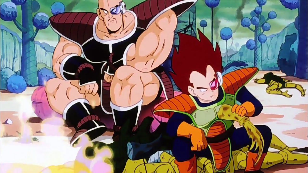 Dragon Ball Z: Vegeta, Nappa e Radish tornano insieme in questa fan art